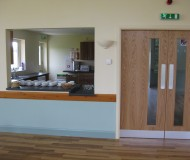 Canteen and Service Area