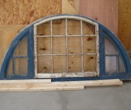 An existing window waiting to be refurbished