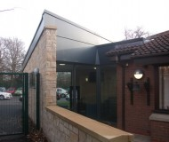 Greenfields Primary School - Exterior view of completed project