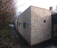 Greenfields Primary School - Rear view of completed project