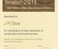 LABC Finalist 2011 Best New Housing