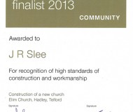 LABC Finalist 2013 - Community - Elim Church