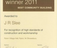 LABC Winner 2011 Best Community Building