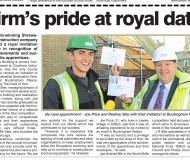 Firms pride at royal date
