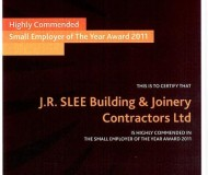 Small Employer of the year 2011