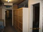 Corridor prior to refurb