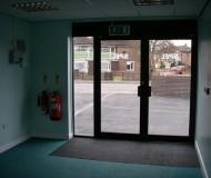 Refurbished Entrance