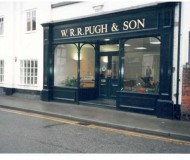 The new Shop front for W.R.R Pugh and son