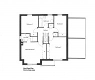 First Floor Plan - Plot 3