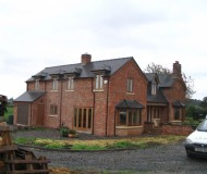 New large two storey extension - Shrewsbury