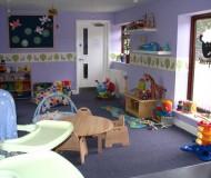 Inside view of nursery on lower level