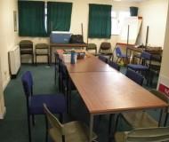 Meeting room prior to refurbishment