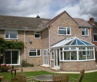 New extension and conservatory