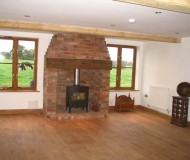 New sitting room in extension - Shrewsbury Extension