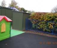 New soft play area