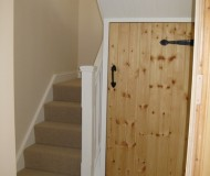 New stairs and hallway