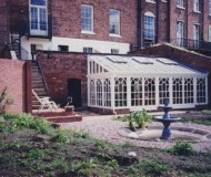 The completed orangery