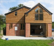 view of new extension with bi-fold doors
