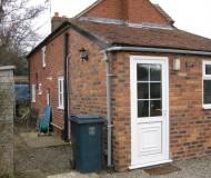 view of original single storey extension