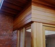Single storey extension.