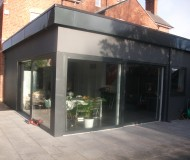 Contemporary extension -Kitchen/summer room