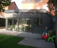 Contemporary extension - Kitchen/summer room