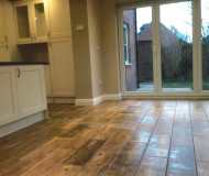 Modern Kitchen Extension - Flooring