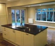Modern Kitchen Extension windows