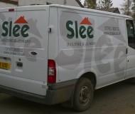 JR Slee Transit van