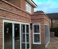 Powder coated aluminium bi-fold door sets
